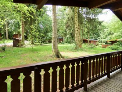 Verandah with Views of the Mature Woodland Site
