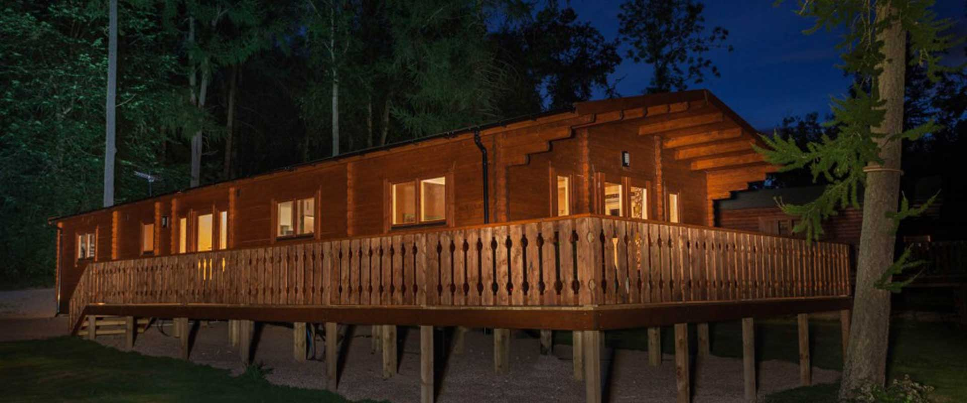 Luxury Log Cabins in the Heart of Lincolnshire